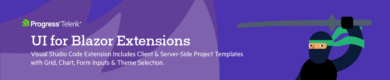 Telerik UI for Blazor Extension